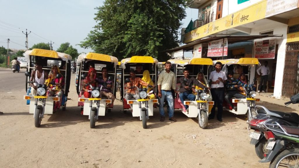 e-Rickshaw financed by Cash Suvidha in Alwar