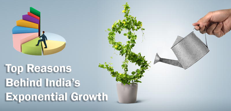 India's exponential growth
