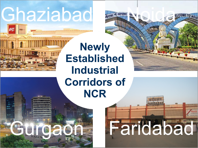 Industrial Crridors of National Capital Region