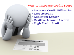 best ways of reconstructing the credit score