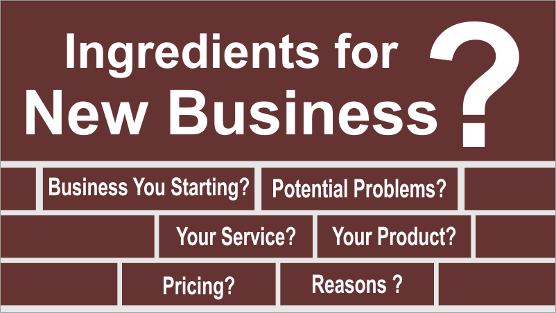 Ingredients for New Business