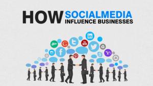 social media impact in business