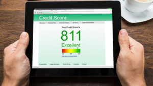 social media on computer generated credit score